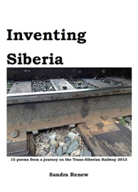 Inventing Siberia cover with close-up of railway track.